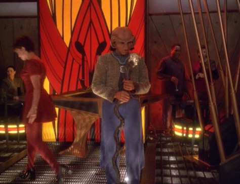 """Busboy, Resistance Leader, Grand Nagus: The life and times of Rom"""
