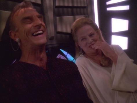 Laugh it up, you just did the nasty with Gul Dukat