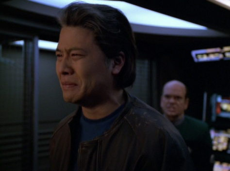 Are you crying Harry?! There's no crying in Starfleet!