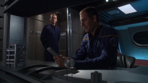 I want off the ship Captain. It's not likely to have another seaso... uh voyage... yeah another voyage after this one. At not in this timeline/universe.