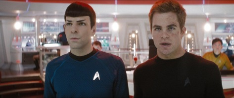 Commander Spock, does Starfleet's vision plan cover repeated exposure to high intensity lens flare?
