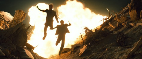 Explosions, jumping, motorcyles... and it's still a good Trek film?!